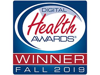 Digital Health Awards Fall 2019 Winner Badge