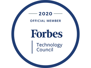 Forbes Technology Council 2020 Official Member badge