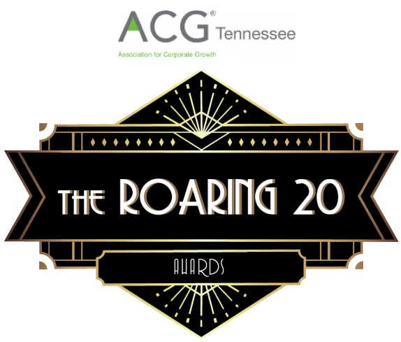 ACG Tennessee's The Roaring 20 Awards logo