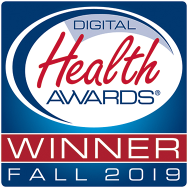 Digital Health Awards Fall 2019 Winner Badge