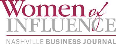 Nashville Business Journal Women of Influence Logo